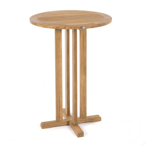 high bar wooden table