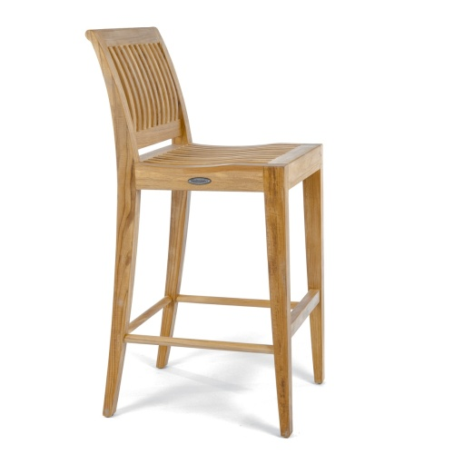 wholesale teak bar stool