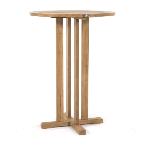 furniture wooden teak bar table