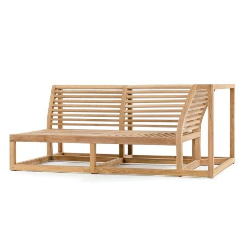 teak outdoor modular sectional sofa