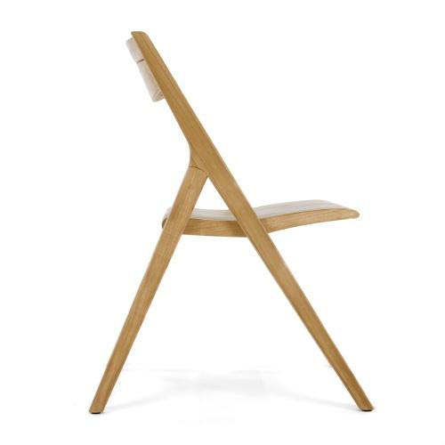 westminster teak surf folding chair