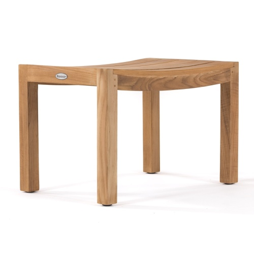 backless dining stoll teak