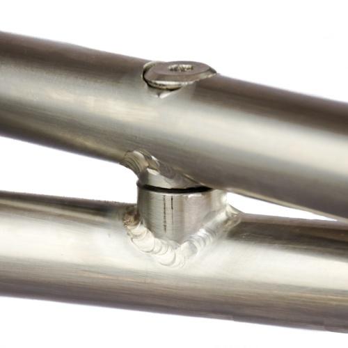 marine grade stainless steel frame