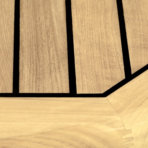 rund teak indoor dining table