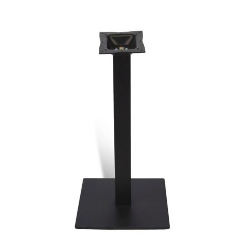 garr black metal table base