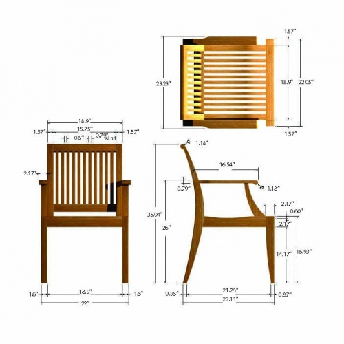teak dining chairs outdoor arm