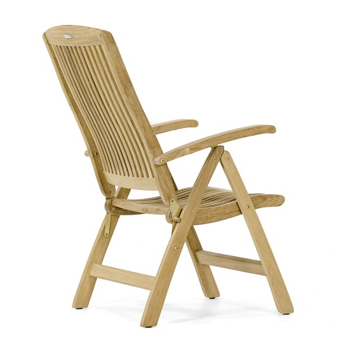 teak garden furniture recliners