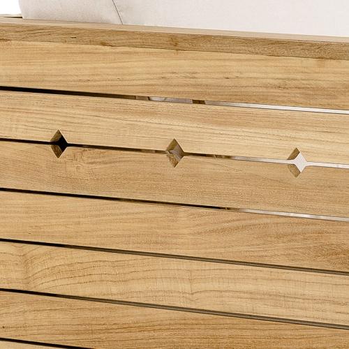 teak wood craftsman chair frame