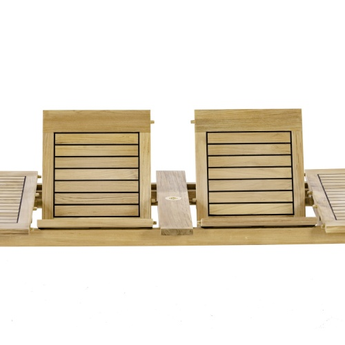 teakwood butterfly extendable table