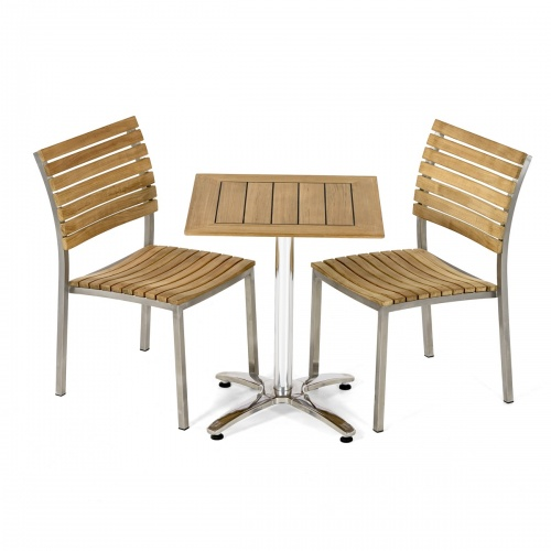 teakwood cafe furniture set
