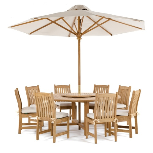 Patio Round Folding Dining Set