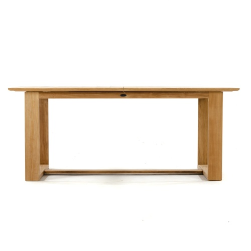 teak patio dining table grade a