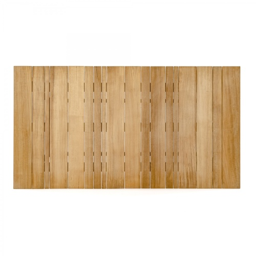 teak rectangular dining table top
