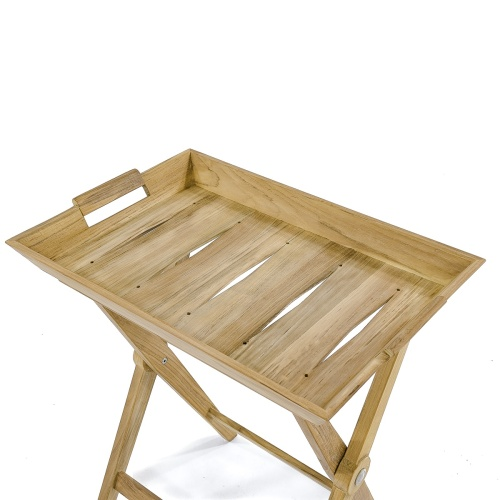 Outdoor Teak Serving Tray