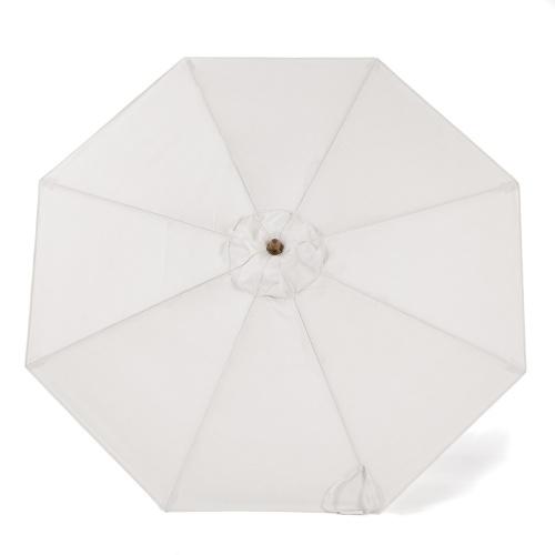 outdoor wooden umbrellas