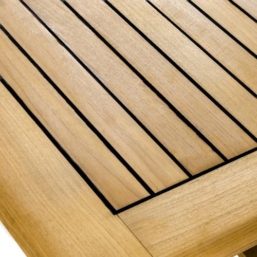 High rectangular bar tables