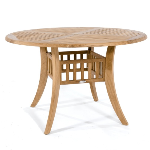 4 Foot Round Outdoor Dining Table