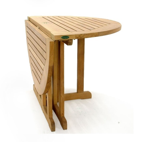 yacht teak folding table