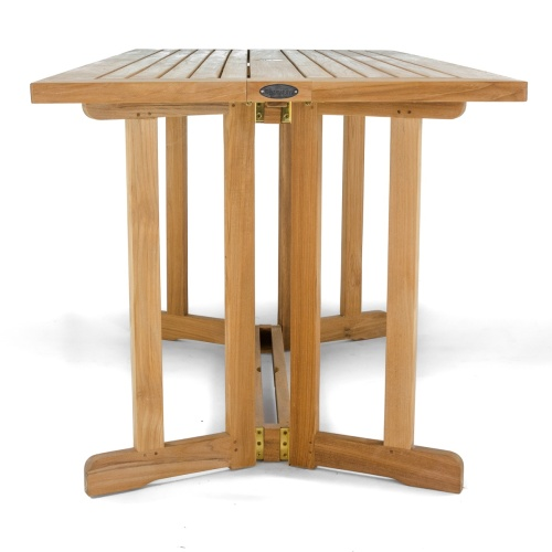 teak drop leaf dining