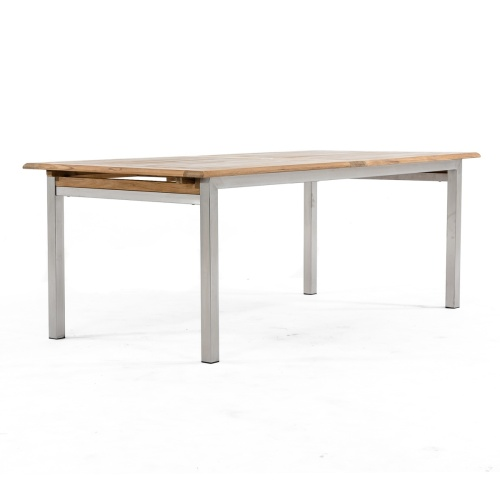 teak outdoor dining extension tables