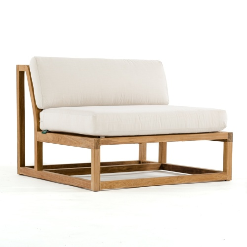 teak sectional deep seating