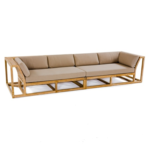 grade a teak wood sectional sofa lounge frame
