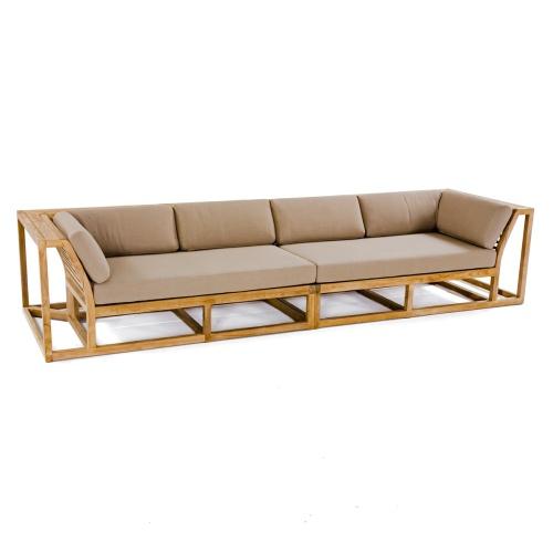 teak outdoor sofa patio & garden furniture
