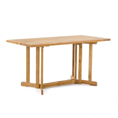 barbuda folding teak furniture table
