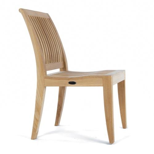 teak plantation timbers slat chair