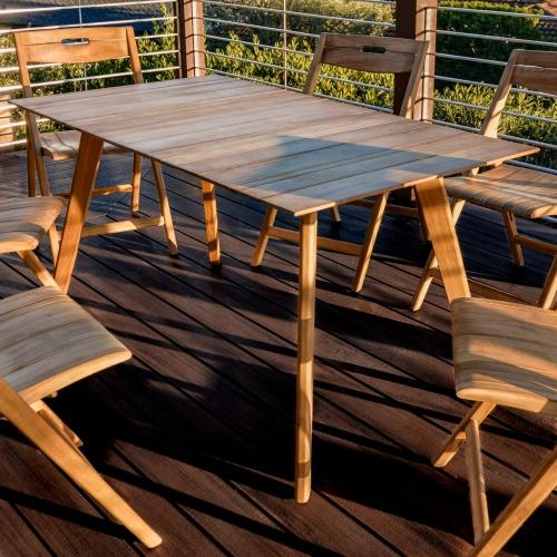 teak wood small table