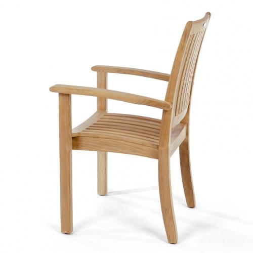 teak wood folding seat