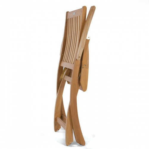 folding spacesaver teakwood chairs