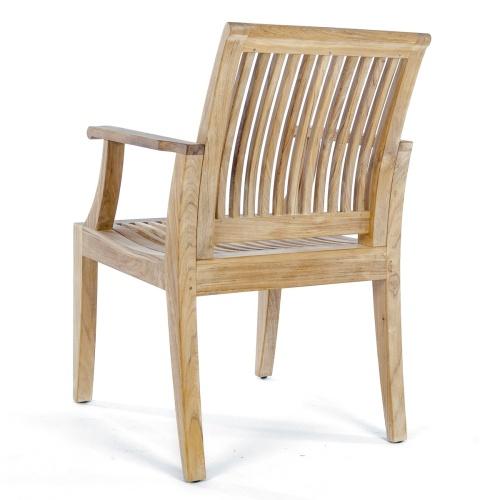mid century teak dining chair