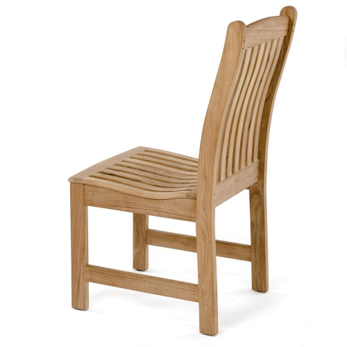 teak veranda side chairs