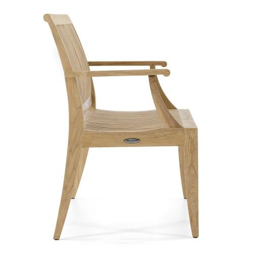 luxury teak furniture bench