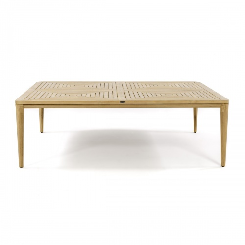 large square outdoor teak table