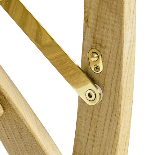 Solid Teakwood Folding Chair