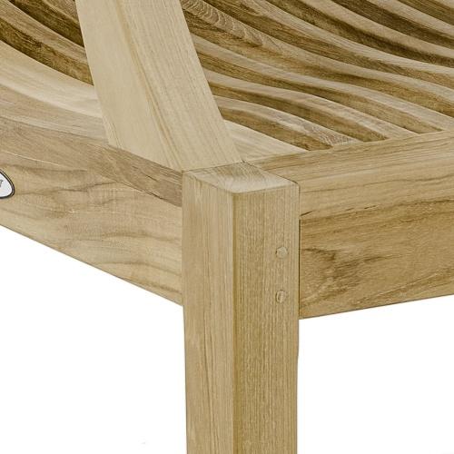 Laguna Teak Wooden Dining Armchair