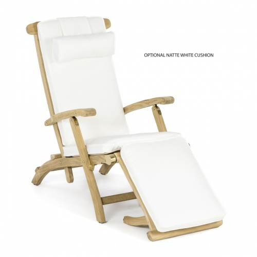 teak steamer chair folding