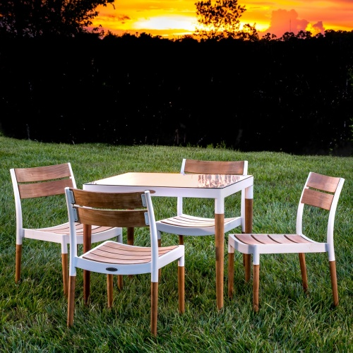 aluminum teak outdoor furniture