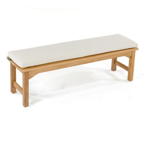 backless bench cushion