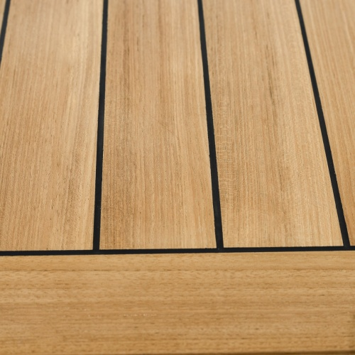 teak and sikaflex table outdoor
