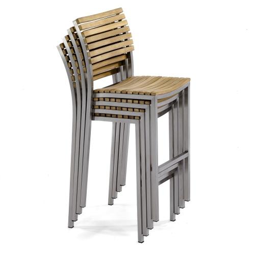 bar stools outdoor stacking