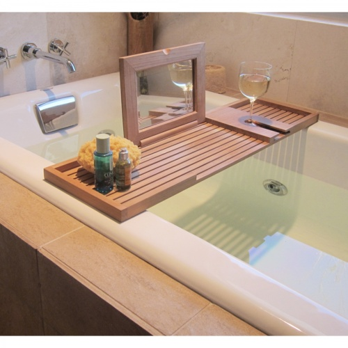 teak bath accessories
