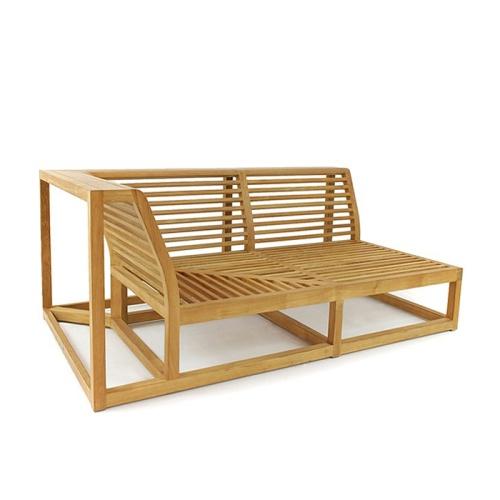 teak sofa frame