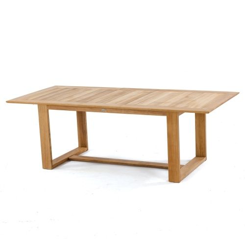 large rectangular outdoor table