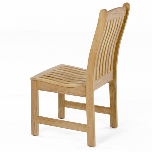 teak dining side chairs outdoor patio