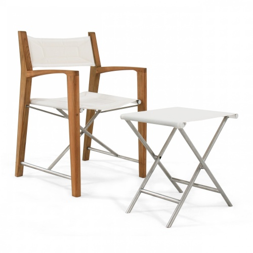 marine folding directors chair set