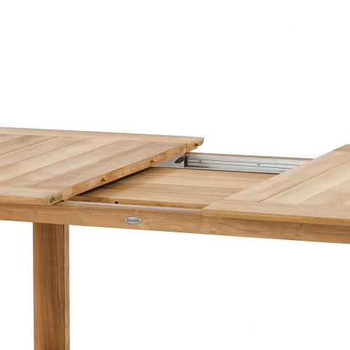 hideaway leaf extension table