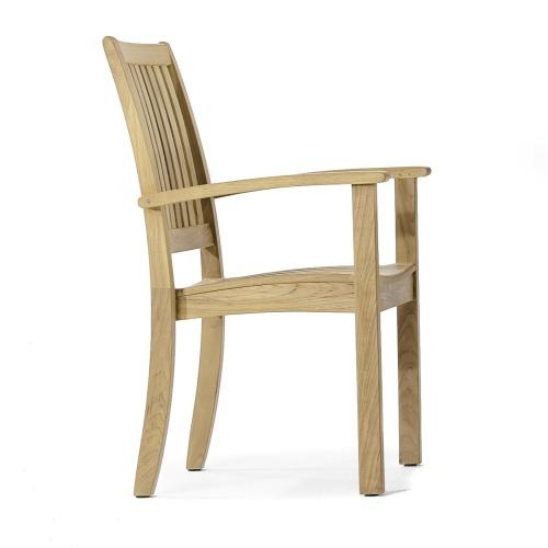 teakwood garden armchair
